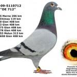 BE-09-5110712 DE 712