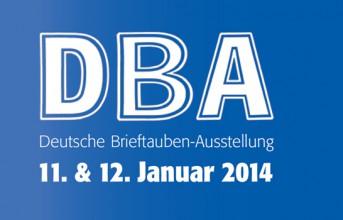 Deutsche Brieftauben-Ausstellung 11. & 12. Januar 2014