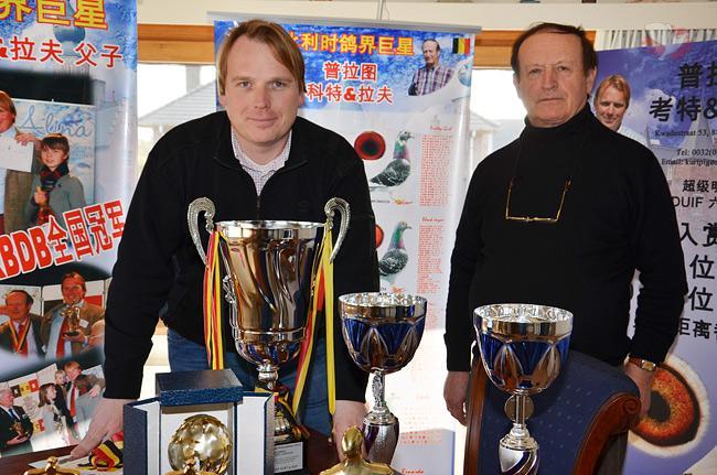 Kurt & Raf Platteeuw, Rumbeke (B)  Belgischer Meister Cureghem Centre  2013 und 2012
