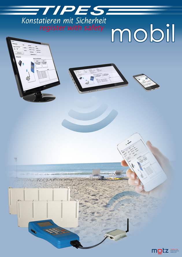 TIPES mobil - Die neueste Innovation aus dem Hause TIPES !