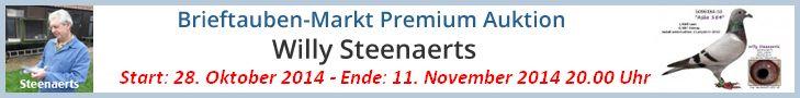 PREMIUM AUKTION - Willy Steenaerts