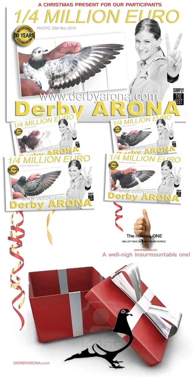Derby Arona Individual Pigeon's Photos & Updated Loft List