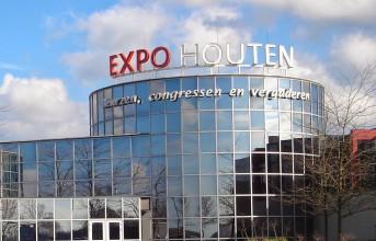 De veer markt Expo Houten (NL) viert zijn 25ste verjaardag