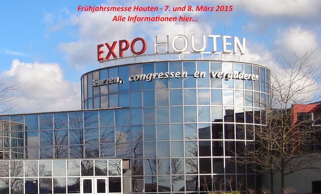 Die 20. Frühjahrsmesse hat eine Rekordzahl an Ausstellern ! Kommendes Wochenende 7. u. 8. März 2015 auf der Expo Houten - NL