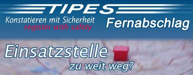 """TIPES Fernabschlag """"NEU""""..."""