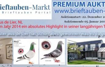 PREMIUM Auktion LEO VAN RIJN aus de Lier (NL)...