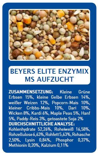 Beyers ms enzima elite de criação