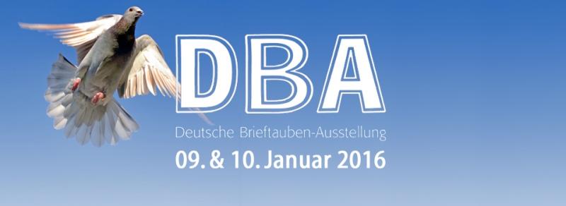 Deutsche Brieftauben-Ausstellung 2016 - 09. - 10.01.2016...