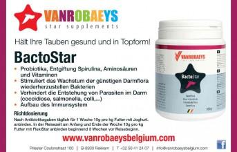 Produkt der Woche - Vanrobaeys BactoStar...