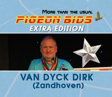 PIGEON BIDS EXTRA EDITION DIRK VAN DYCK...