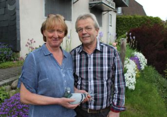 Gerhard und Rita Homberg -  2. Verbandsmeister mit Jährigen 2015