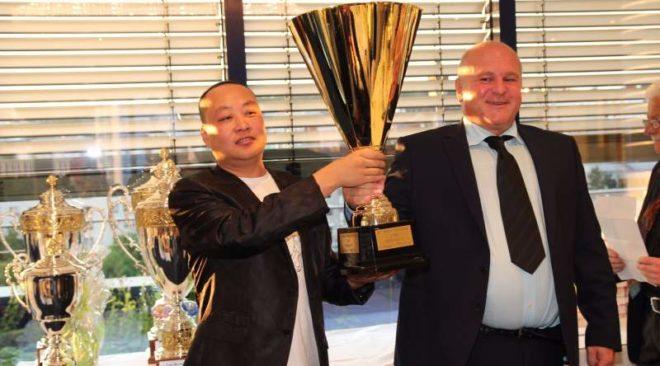 Andreas Drapa und Yongjang Zhang, Pforzheim - Gewinner des Mercedes Cup 2016...