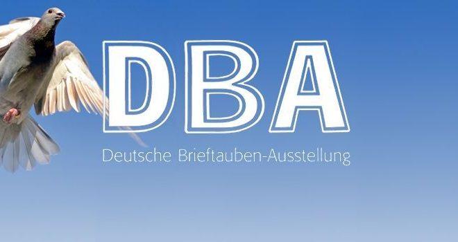 Deutsche Brieftauben-Ausstellung (DBA) - 07. bis 08. Januar 2017 in Dortmund...