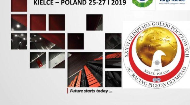 OLYMPIADE 2019 in Polen...