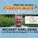 PIGEON BIDS EXTRA EDITION KARL-HEINZ WICHERT...