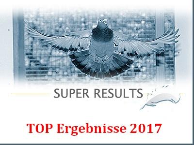 TOP Ergebnisse Wochenende 18./19. August 2017...