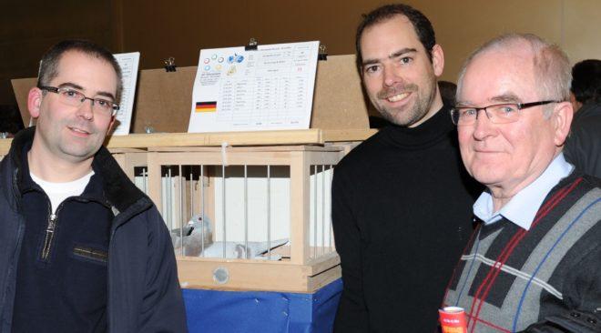 Fritz, Thomas und Benedikt Kersting - Tauben-Qualität der Schlüssel zum Erfolg…