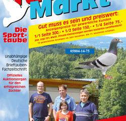 Taubenmarkt / Le pigeon de sport Juin 2017 ...