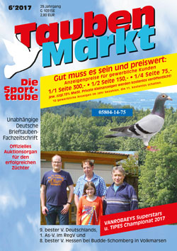 TaubenMarkt/Die Sporttaube JUNI 2017...