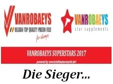 VANROBAEYS Superstars 2017 - die Gewinner...