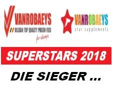 Endstand: VANROBAEYS SUPERSTARS 2018 - die Sieger...