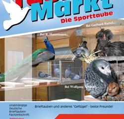 TaubenMarkt/Die Sporttaube MAI 2018...