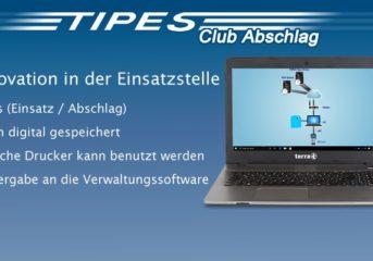 Noch zur Alttaubenreise 2019 - TIPES Clubabschlag: Die Innovation in der Einsatzstelle...