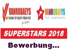 vanrobaeys superstar 2018 bewerben