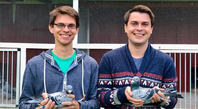 André und Tobias Klütsch - Versorgung während der Jungtierreise...