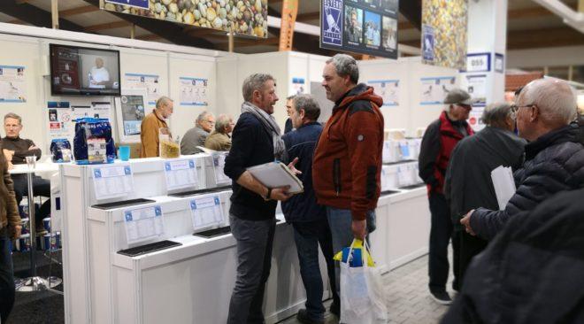 BEYERS - TOP-Anziehungspunkt auf der Taubenmarkt Messe 2018...