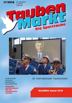 TaubenMarkt/Die Sporttaube November 2018...
