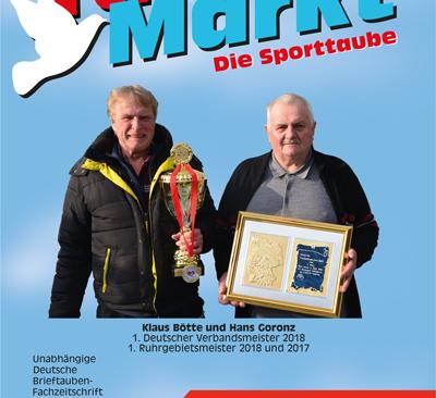 Taubenmarkt / The sports pigeon - March 2019 ...