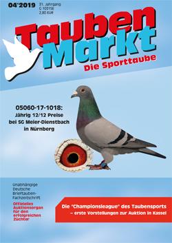 Taubenmarkt / Le pigeon de sport - Avril 2019 ...