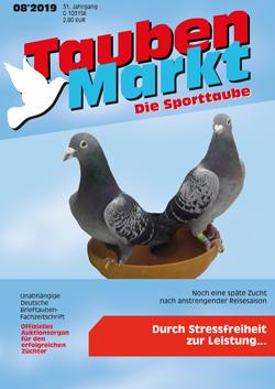 Taubenmarkt / The sports pigeon August 2019 ...