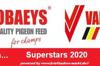 VANROBAEYS Superstars 2020 - hier bewerben bis zum 01. Oktober 2020...