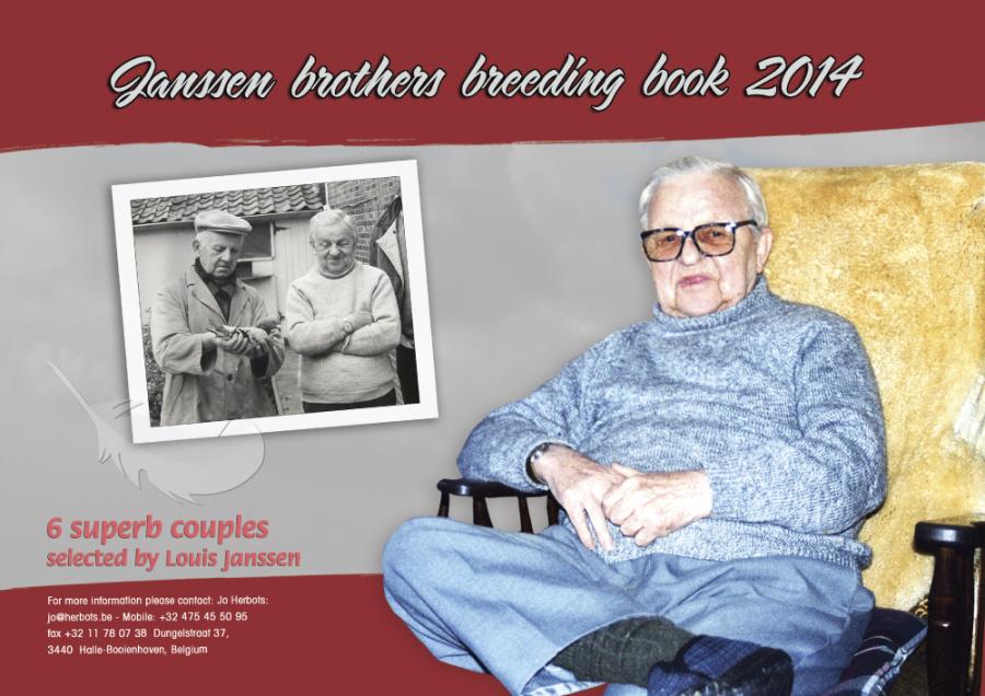 Herbots stellt neues Janssen Zuchtbuch 2014 vor