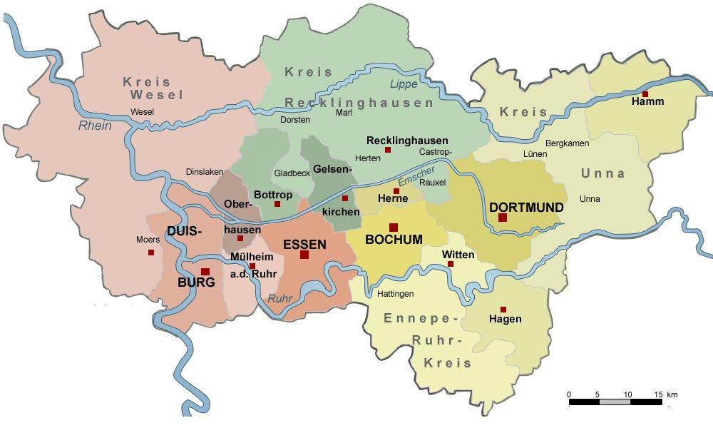 Ruhrgebiet  17.05.2014 – 19.05.2014