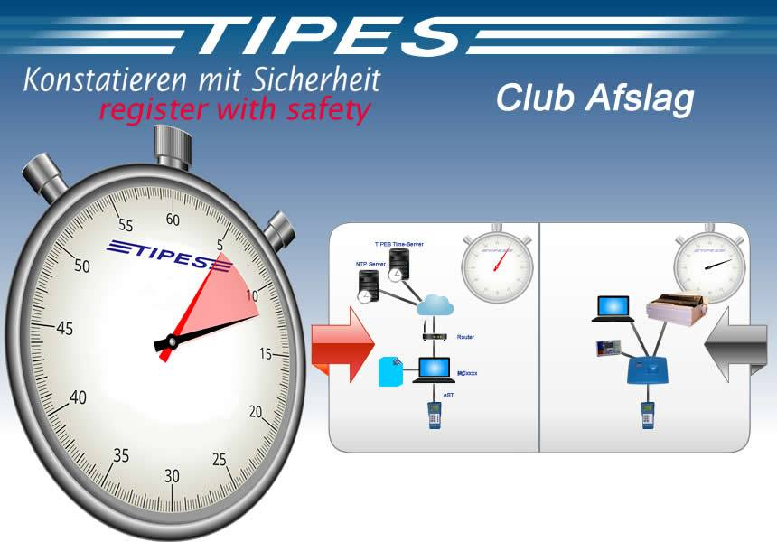 """Der """"TIPES Club Abschlag"""" - NEWS vom Erfinder des elektronischen Zeiterfassungssystems für den Taubensport..."""