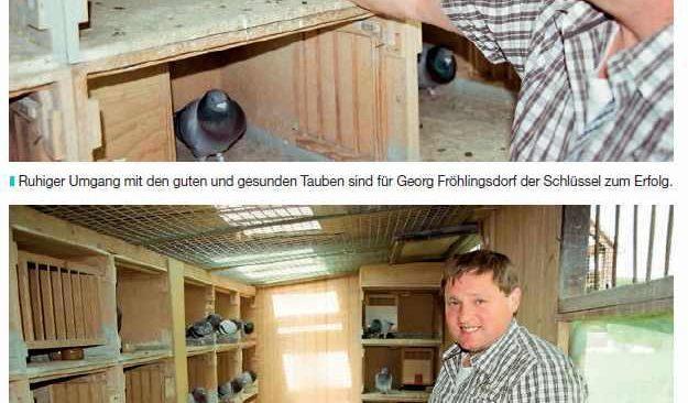 SG Fröhlingsdorf - 2019 eine weitere Spitzen-Saison