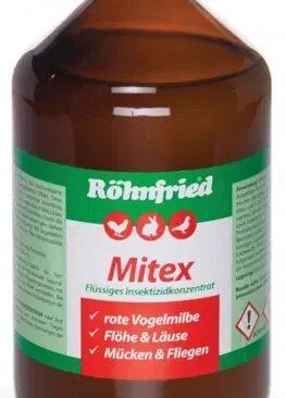 Ungezieferbekämpfung: Mitex stoppt die rote Vogelmilbe!