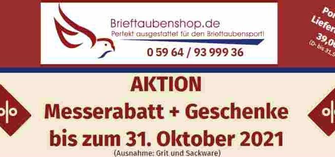AKTION Messerabatt + Geschenke bis 31.10.2021...